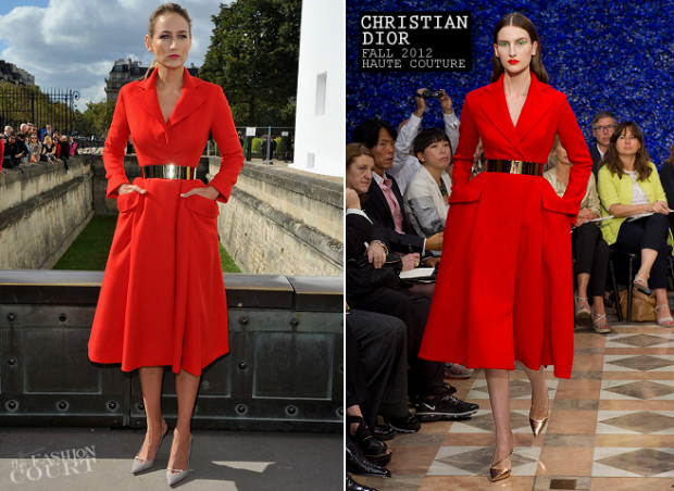 Leelee Sobieksi, Christian Dior A-vonalú költeményében!(via The Fashion Court)