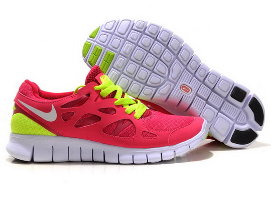 Sale-Nike-Free-Run-Plus-2-Womens-Red-Neon-Green-Running-Shoes