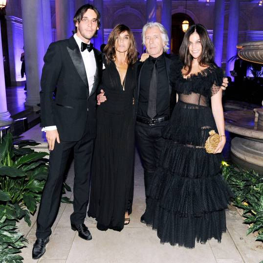 CARINE ROITFELD and Friends Toast the Launch of CR FASHION BOOK at The Frick Collection, Presented by Mercedes-Benz